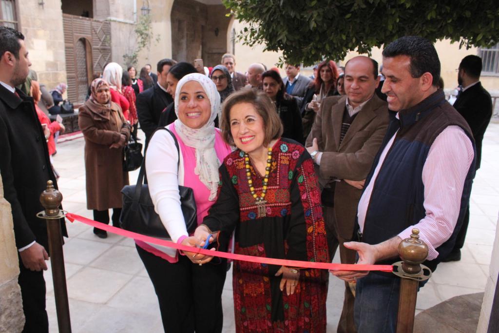 افتتاح معرض قول يا طير في قصر الأمير طاز، يوم 06 آذار/مارس